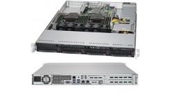 Корпус Supermicro CSE-815TQC-605WB Black 1U 600W