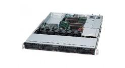 "Корпус Supermicro CSE-815TQC-R706WB2 1U 4x3.5"""" hot-swap SAS/SATA, Optimized for X11 WIO (W series), 2 full-height & full-length expansion slot(s) , 1 low-profile expansion slot(s), 700/750W"