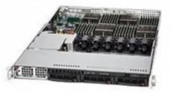 "Корпус Supermicro CSE-818TQ-1400LPB (Black) 1U Rack, 3x3.5""""SAS/SATA HSW, 1400W"