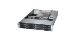 "Корпус Supermicro CSE-826BAC4-R1K23LPB 2U, 2x1200W, 12x3.5""""HDD (Up to 4 NVMe), SAS3 (12Gbps)"