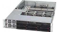 """Корпус Supermicro CSE-828TQ-R1K43LPB (Black) 2U Rack, 6x3.5""""""""SAS/SATA HSW, 1400W"""