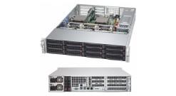 "Корпус Supermicro CSE-829HE1C4-R1K62LPB - 2U, 2x1600W, 16x3.5"""" bays, Single SAS3 (12Gbps) expander, LP"
