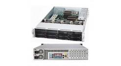 """Корпус Supermicro CSE-829TQ-R920LPB (Black) 2U Rack, 8x3.5""""""""SAS/SATA HSW+2x3.5"""""""" fix, 920W 1+1"""