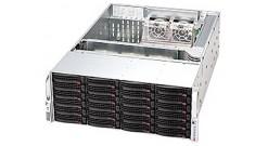 "Корпус Supermicro CSE-846A-R900B - (Black) 4U, 24x3.5"""" SAS/SATA, 6xSFF8087(iPASS), 2x900W"