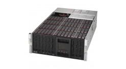 "Корпус Supermicro CSE-946SE2C-R1K66JBOD - 4U, 2x1600W, 60x3.5"""" HDD SAS/SATA, Dual expanders, RMKit"