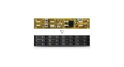 "Корпус для HDD HDD CAGE,84H341810-015 Корзина для RM235 3.5"""" HDD cage with 12-port 6Gb/s (miniSAS) expander backplane"