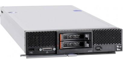 Блейд сервер IBM Flex System x240 Compute Node, Xeon 6C E5-2640 95W 2.5GHz/1333MHz/15MB, 2x4GB, O/Bay 2.5in SAS