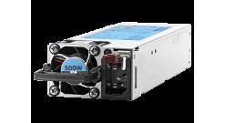 Блок питания HP Hot Plug Redundant Power Supply Flex Slot Platinum 500W Option K..