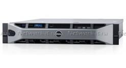 Сервер Dell PowerEdge R530 2U no HDD caps/ no CPU(2)/ no memory(2x6)/ no control..