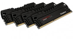 Модуль памяти Kingston HyperX DDR3 32Gb Quad Channel (8GbX4) 2133MHz CL11 XMP Beast Series HX321C11T3K4/32