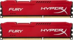Модуль памяти Kingston 16GB 1600MHz DDR3 CL10 DIMM (Kit of 2) HyperX FURY Red Series