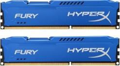 Модуль памяти Kingston 8GB 1866MHz DDR3 CL10 DIMM (Kit of 2) HyperX FURY Blue Series