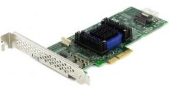 Контроллер Adaptec ASA-6405H (PCI-E v2 x4, LP) SGL SAS 6G, 4port(int 1*SFF8087),..