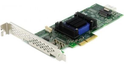 Контроллер Adaptec ASA-6405H (PCI-E v2 x4, LP) SGL SAS 6G, 4port(int 1*SFF8087), Каб.отдельно