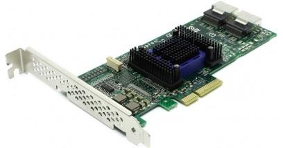 Контроллер Adaptec ASA-6805H (PCI-E v2 x4, LP) SGL SAS 6G, 8port(int 2*SFF8087), Каб.отдельно