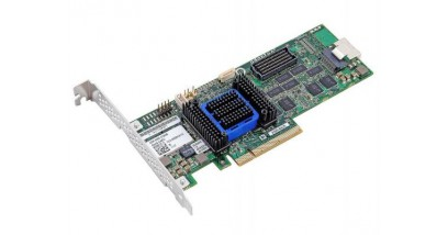 Контроллер Adaptec ASR-6405 (PCI-E v2 x8, LP) SGL SAS 6G, Raid 0,1,10,5,6,50, 4port(intSFF8087), 512Mb onboard, Каб.отдельно
