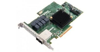 Контроллер Adaptec ASR-71685 (PCI-E v3 x8) SGL SAS/SATAII, Raid..., 24port(int4*SFF8643+ext2*SFF8644), 1Gb cache, Каб.отдельно