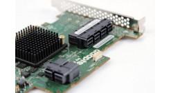 Контроллер Adaptec ASR-72405 (PCI-E v3 x8) SGL SAS/SATAII, Raid..., 24port(int 6*SFF8643), 1Gb cache, Каб.отдельно