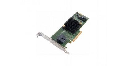 Контроллер Adaptec ASR-7805 (PCI-E v3 x8, LP) SGL SAS 6G, Raid 0,1,10,5,6.., 8port(int 4*SFF8643), 1Gb cache, Каб.отдельно