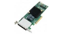Контроллер Adaptec ASR-78165 (PCI-E v3 x8) SGL SAS 6G, RAID..., 24port(int2*SFF8643+ext4*SFF8644), 1Gb cache, Каб.отдельно