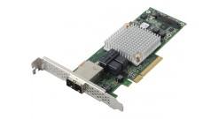 Контроллер Adaptec ASR-8885 SGL (Hybrid RAID 1, 10 RAID 0, 1, 10, 1E, 5, 6, 50 and 60, 8 ext. ports(SFF8644)/8 int. ports(SFF8643), 1024 Cache, кабели отдельно)