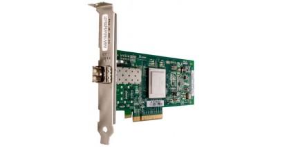 Контроллер FC Qlogic QLE2560 Single Port FC HBA, Multimode Optic LC, 8G, PCI-e