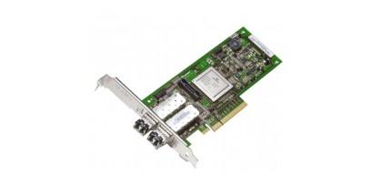 Контроллер FC Qlogic QLE2562 Double Port FC HBA, Multimode Optic LC, 8G, PCI-e