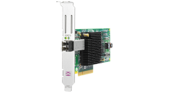 Контроллер HPE StorageWorks FCA 81E 8Gb FC Host Bus Adapter PCI-E for Windows, Linux (LC connector), incl. h/h & f/h. brckts (analog AJ762A)