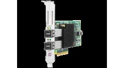 Контроллер HP FCA 82E Dual Channel 8Gb Host Bus Adapter PCI-E for WinSrv and Lin..