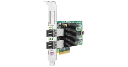 Контроллер HP FCA 82E Dual Channel 8Gb Host Bus Adapter PCI-E for WinSrv and Linux (LC connector), incl. h/h & f/h. brckts (analog AJ763A)