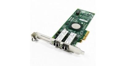 Контроллер HP FCA 82Q Dual Channel 8Gb FC Host Bus Adapter PCI-E for Windows, Linux (LC connector), incl. h/h & f/h. brckts (replace AE312A)