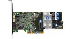 Контроллер Intel Raid RS3DC040 PCI-Ex8, 4port-int SAS/SATA 12Gb/s RAID 0/1/5/6/10/50/60, 1Gb (928222)