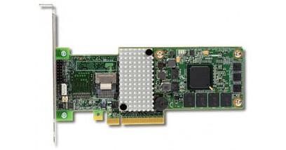 Контроллер LSI Logic SAS 9260CV-4I (PCI-E 2.0 x8, LP) Kit SAS6G, Raid 0,1,10,5,6, 4port (2*intSFF8087),512MB onboard