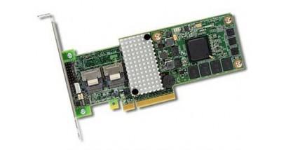 Контроллер LSI Logic SAS 9260CV-8I (PCI-E 2.0 x8, LP) Kit SAS6G, Raid 0,1,10,5,6, 8port (2*intSFF8087),512MB onboard