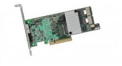 Контроллер LSI Logic SAS 9266-8I (PCI-E 2.0 x8, LP) Kit SAS6G, Raid 0,1,10,5,6, 8port (2*intSFF8087),1GB onboard