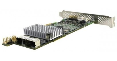 Контроллер LSI Logic SAS 9266-8I (PCI-E 2.0 x8, LP) SGL SAS6G, Raid 0,1,10,5,6, 8port (2*intSFF8087),1GB onboard
