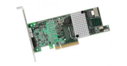 Контроллер LSI Logic SAS 9271-4I (PCI-E 3.0, LP) Kit SAS6G, Raid , 4port (),1GB onboard, Каб.#453 1шт в комплекте