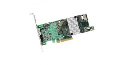 Контроллер LSI Logic SAS 9271-4I (PCI-E 3.0, LP) SGL SAS6G, Raid , 4port (),1GB onboard, Каб.отдельно