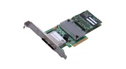 Контроллер LSI Logic SAS 9286-8E (PCI-E 3.0 , LP, EXTERNAL) SGL SAS6G, Raid , 8port (),1GB onboard, Каб.отдельно