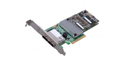 Контроллер LSI Logic SAS 9286CV-8ECC (PCI-E 3.0 , LP, EXTERNAL) SGL SAS6G, Raid , 8port (),1GB onboard, CachVault, CacheCade+FastPath, Каб.отдельно