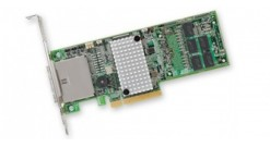Контроллер LSI Logic SAS 9286CV-8E (PCI-E 3.0 , LP, EXTERNAL) SGL SAS6G, Raid , 8port (),1GB onboard, CachVault, Каб.отдельно