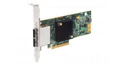 Контроллер LSI Logic SAS 9207-8E (PCI-E 3.0 x8, LP, EXTERNAL) SGL SAS6G, 8port (2*extSFF8088), Каб.отдельно