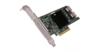 Контроллер LSI Logic SAS 9207-8I (PCI-E 3.0 x8, LP) Kit SAS6G, Raid 0,1,10, 8port (2*intSFF8087)
