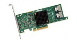 Контроллер LSI Logic SAS 9207-8I (PCI-E 3.0 x8, LP) SGL SAS6G, Raid 0,1,10, 8port (2*intSFF8087), Каб.отдельно