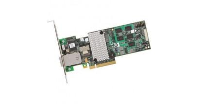 Контроллер LSI Logic SAS 9280-4i4e SGL (LSI00209) 512Mb PCI-E, 4-port int/4-port ext 6Gb/s, SAS/SATA Raid Adapter