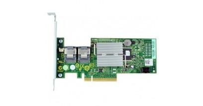 Контроллер PERC H810 Raid Controller, 1GB NV Battery-Backed Cache, 6Gb/s (SAS2.0), BBU, Raid (0,1,5,6,10,50,60), SAS/SATA HDD support, for external JBOD, x8 PCIe 2.0, two x4 external mini-SAS