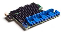 Контроллер Intel Raid RMS2LL080 8ch 2МБ PCI Express x4, SAS/SATA Raid 0, 1,1E (907855)