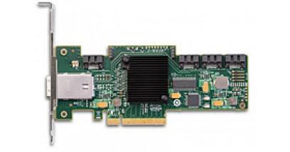 Контроллер LSI Logic SAS 9212-4I4E Kit (LSI00193) PCI-E, 6 Gb/s, SAS, 4-port internal, 4-port external, Host Bus Adapter