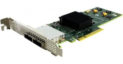 Контроллер LSI Logic SAS 9200-8E SGL (LSI00188) PCI-E, 6 Gb/s, SAS, 8-port Host Bus Adapter