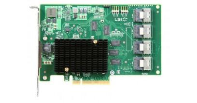 Контроллер LSI Logic SAS 9201-16I SGL (LSI00244) PCI-E, 6 Gb/s, SAS, 16-port Host Bus Adapter